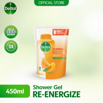 Dettol Body Wash Liquid Re-energize 450ml