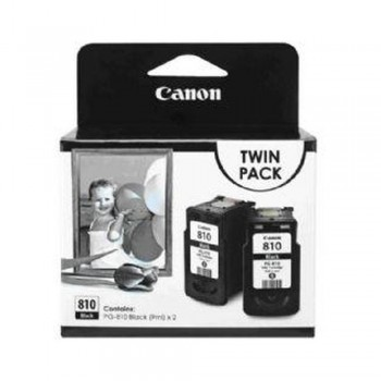 Canon PG-810 Twin Pack Ink Cartridge - Black