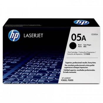 HP 05A Black LaserJet Toner Cartridge (CE505A) [646805]