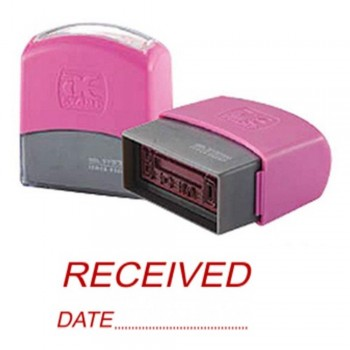 AE Flash Stamp - Received,Date