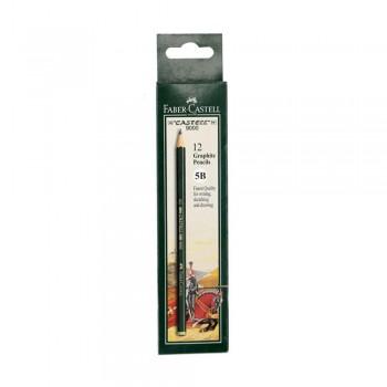 Faber Castell Graphite Pencil Castell 9000 5B (12 pcs)