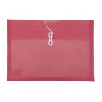 A4 Top Open Document Holder Red
