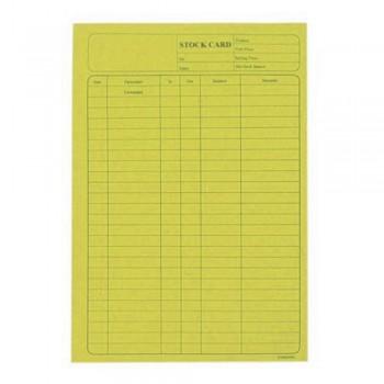5006 120Gsm Stock Card 20'S Yellow