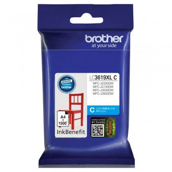 Brother LC-3619XL Cyan Ink