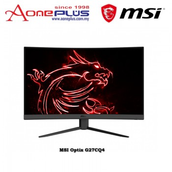 "MSI Optix G27CQ4 - 27"" WQHD 165Hz 1ms VA FreeSync Curved Gaming Monitor"