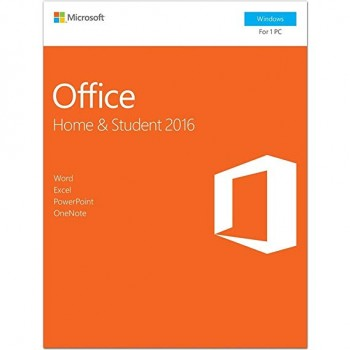 (AONE) MICROSOFT OFFICE HOME & STUDENT 2016 WIN ENGLISH APAC EM MEDIALESS (FPP) SOFTWARE (79G-04679)