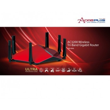 (AONE) D-LINK DIR-890L WIRELESS AC3200 TRI BAND GIGABIT CLOUD ROUTER