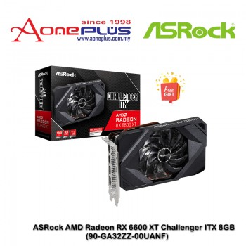 AMD Radeon RX 6600 XT Challenger ITX 8GB