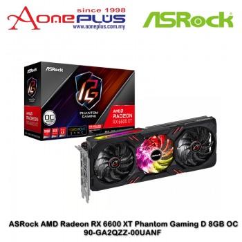 ASRock AMD Radeon RX 6600 XT Phantom Gaming D 8GB OC