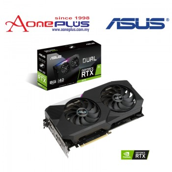 ASUS NVIDIA GEFORCE DUAL-RTX3070-O8G GDDR6 256-BIT PCI-E 4.0 GRAPHIC CARD