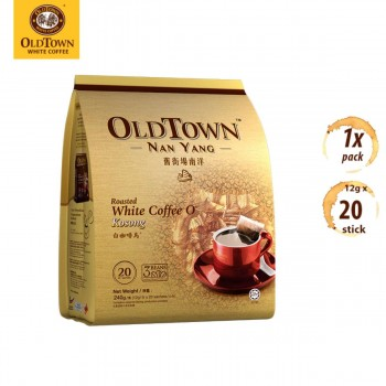 OLDTOWN Nan Yang White Coffee KOPI-O Kosong No Sugar Added (12g x 20s)