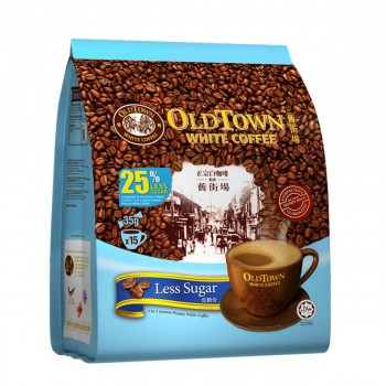 OLDTOWN White Coffee 3-in-1 Less Sugar Instant Premix (35g x 15s)