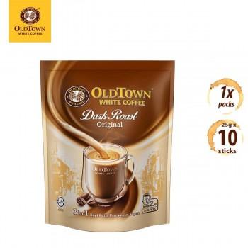 OLDTOWN White Coffee Dark Roast 3-in-1 Original Instant Premix (10s x 1 Pack)