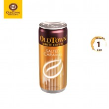 OLDTOWN White Coffee Salted Caramel RTD Can Drink (240ml x 1 can)