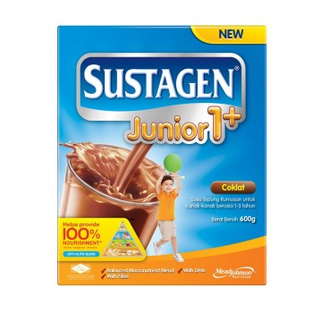 Sustagen Junior 1 Plus Chocolate Milk Powder 600g