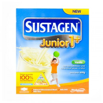 Sustagen Junior 1 Plus Vanila Milk Powder 600g