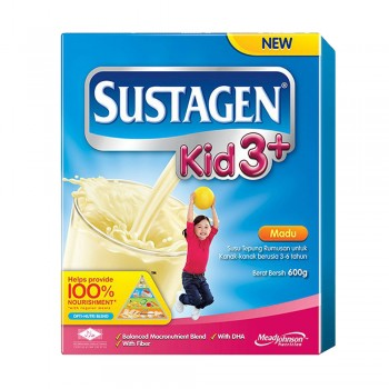 Sustagen Kid 3 Plus Honey Milk Powder 600g