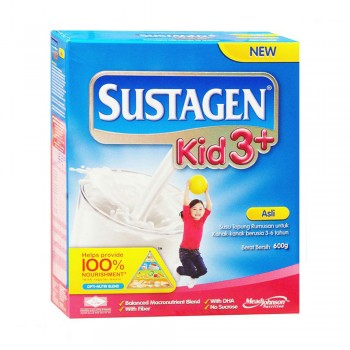 Sustagen Kid 3 Plus Original Milk Powder 600g