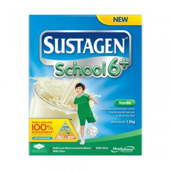Sustagen School 6 Plus Vanilla Milk Powder 1.2kg