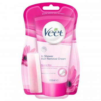 Veet In Shower Hair Removal Normal Skin 150ML