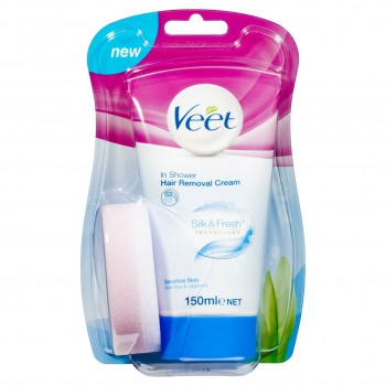 Veet In Shower Hair Removal Sensitive Skin 150ML