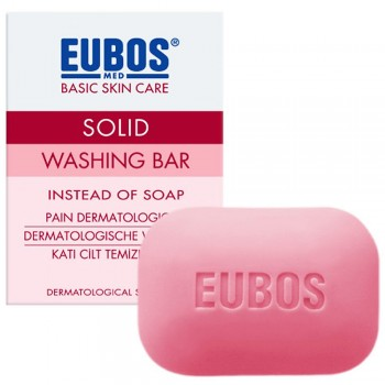 Eubos Red Washing Bar Cleanser 125g