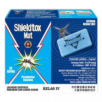 Shieldtox Blue Mat Refill 90 pieces