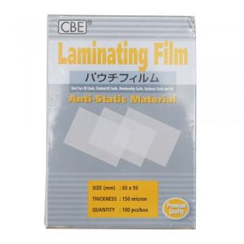 CBE 65 X 95 - 150micron Laminating Film