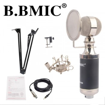 B. BMIC Bottle Condenser Microphone - Black (Set)