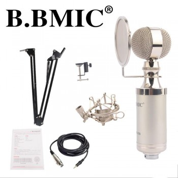 B. BMIC Bottle Condenser Microphone - Silver (Set)