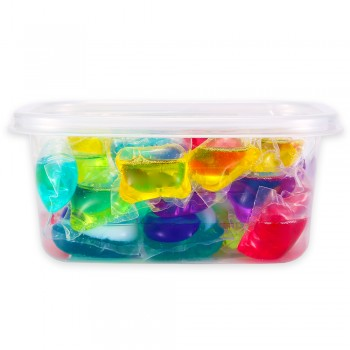 Laundry Detergent Gel Pods Mixed Colors 50pcs