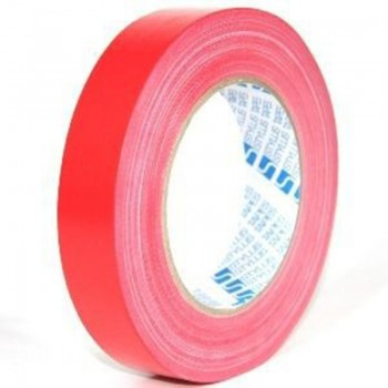 Cloth Tape 24MM x 7Y Red ( ITEM NO : B02 01 CT24X7RD )