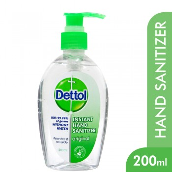 Dettol Hand Sanitizer Original 200ml