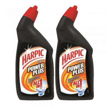 Harpic Powerplus All-in-one Original Cleaning Gel 450ml x2 (Value Pack)