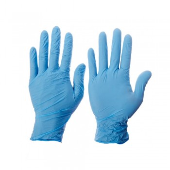 Kleenguard G10 Blue Nitrile Thin Mil Gloves - S