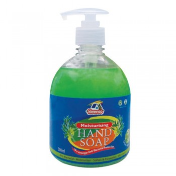 Kleenso Moisturising Hand Soap - Green Apple, 500 ml
