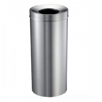Stainless Steel Round Waste Bin C/W Open Top - RAB-074/SS (Item No: G01-36)