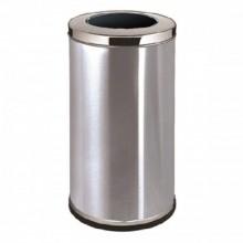 Stainless Steel Round Waste Bin - C/W Open Top RAB-013/SS