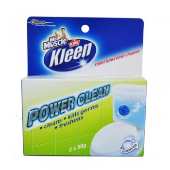 Mr Muscle Kiwi Kleen Toilet Bowl Bloo Cleaner 6 x 50g