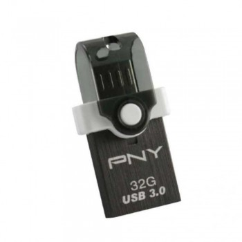 PNY Duo?Link OU4 OTG USB 3.0 Flash Drive - 16GB