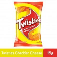Twisties Cheddar Cheese (15g x 30)