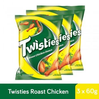 Twisties Roast Chicken (60g x 3)