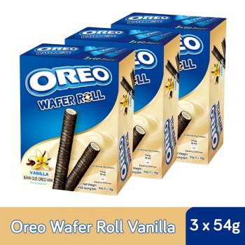 Oreo Wafer Roll Vanilla (54g x 3)