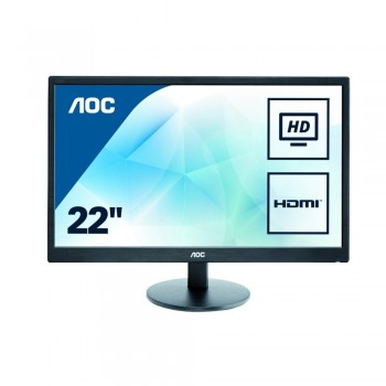 "AOC e2270swhn 21.5"" LED Monitor Black - 1920 x 1080 Resolution, 5ms, 20M:1"