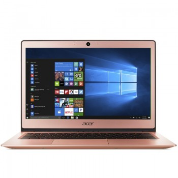 "Acer Swift 1 SF113-31-P08A 13.3"" FHD LED Laptop - Pentium N4200, 4gb ram, 128gb ssd, Intel, Win10, Salmon Pink"