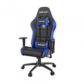ANDA SEAT Gaming Chair Jungle Series - Black & Blue
