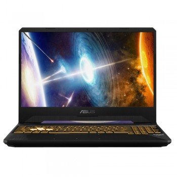 "Asus TUF FX505G-EES241T 15.6"" FHD 144Hz Gaming Laptop - i7-8750, 8GB DDR4, 1TB + 128GB SSD, NVD GTX1050Ti 4GB, W10, Gold Steel"