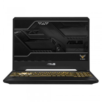 "Asus TUF FX505G-MBQ202T 15.6"" FHD Gaming Laptop - i5-8300H, 4GB DDR4, 1TB + 128GB SSD, NVD GTX 1060 6GB, W10, Gold Steel"