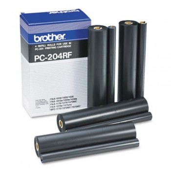 Brother PC204RF Fax Ink Film (4 Films)