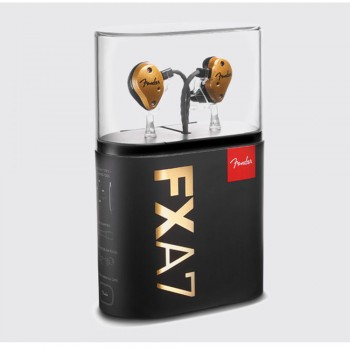 Fender IEM FXA7 In-Ear Monitor - Gold